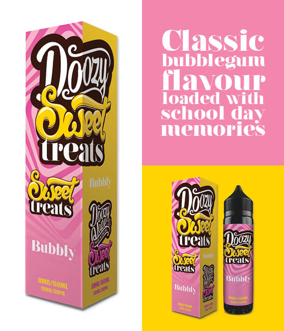 Bubbly – 50ml Shortfill Inc Free Nic Shot