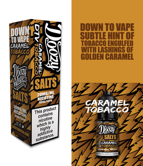 Caramel Tobacco Salts