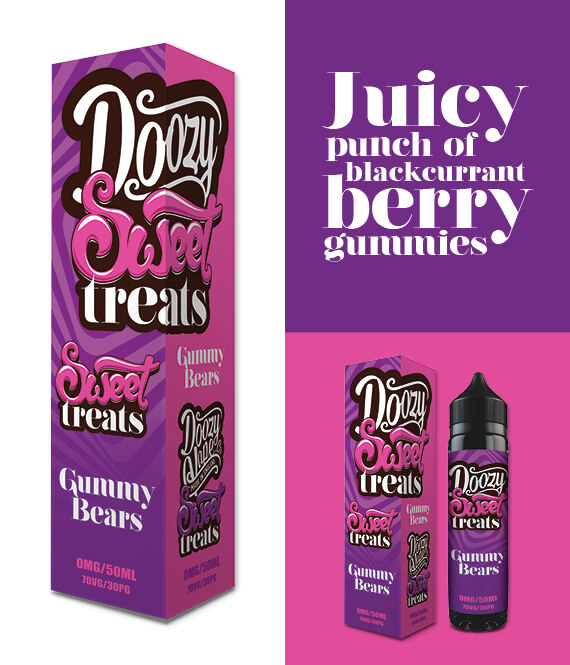 Gummy Bears – 50ml Shortfill Inc Free Nic Shot