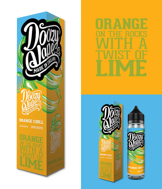 Orange Chill – 50ml Shortfill Inc Free Nic Shot