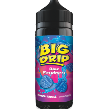 Big Drip - Blue Raspberry Cheap E-Liquid