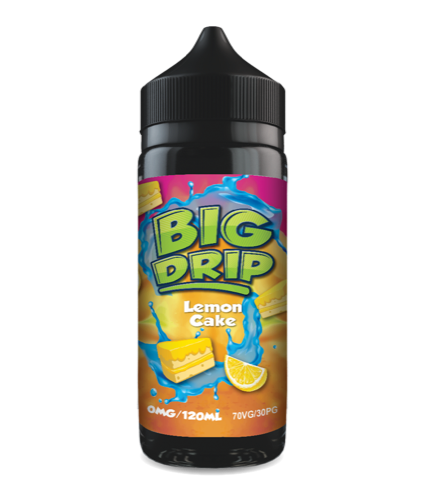 Big Drip - Lemon Cake Cheap E-Liquid