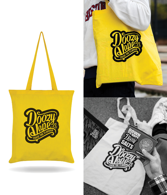 Doozy Yellow Tote Bag