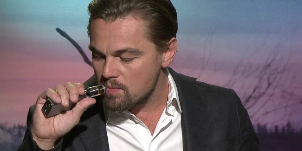 Leonardo DiCaprio Vape