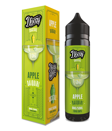 Doozy Vape Apple Daiquiri Cocktail Flavour E-Liquid Shortfill