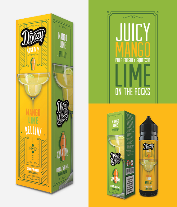 Mango Lime Bellini – 50 ml Shortfill Inc Free Nic Shot