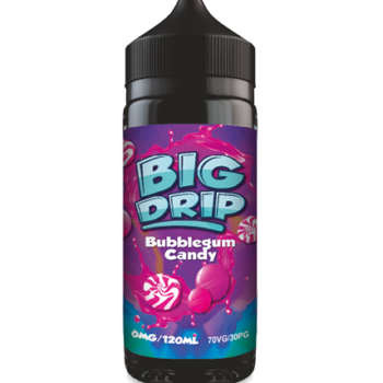 Doozy Vape Co Bubblegum Candy 120ml Shortfill Big Drip