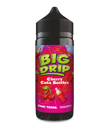 Doozy Vape Co Big Drip Cherry Cola Bottles 120ml Shortfill