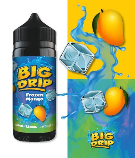 Doozy Vape Co Frozen Mango Big Drip 120ml Shortfill