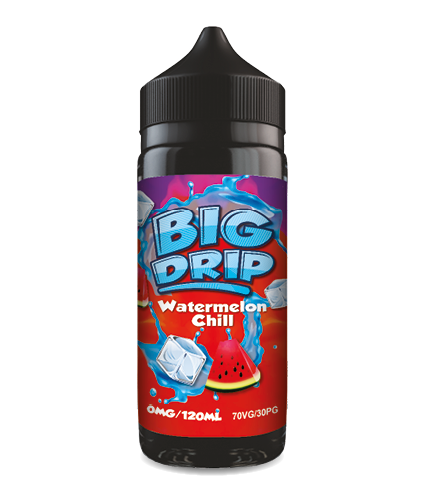 Doozy Vape Co Big Drip Watermelon Chill 120ml Shortfill