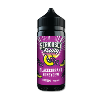 Seriously Fruity Blackcurrant Honeydew E-liquid 100ml Shortfill