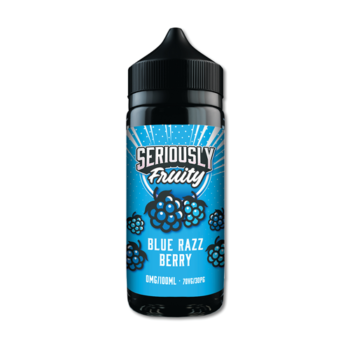 Seriously Fruity Blue Razz Berry E-liquid 100ml Shortfill