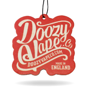 Doozy Car Air Freshener. We thought it would be nice to create something you can use on your everyday travels...something to remind you of your favourite Vape Brand!