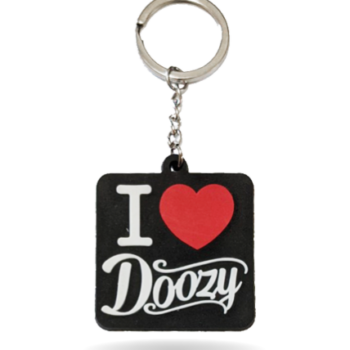 I Love Doozy Key Ring
